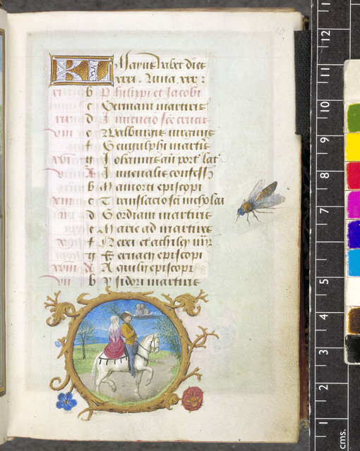 May from BL Eg 1147, f. 10