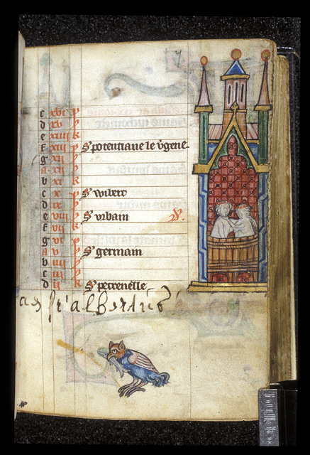 May from BL Stowe 17, f. 7
