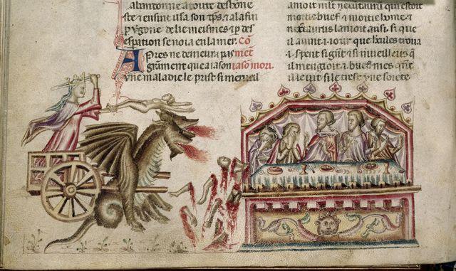 Medea from BL Royal 20 D I, f. 37v