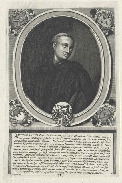 Megingaud, Bischof von Würzburg, Heiliger