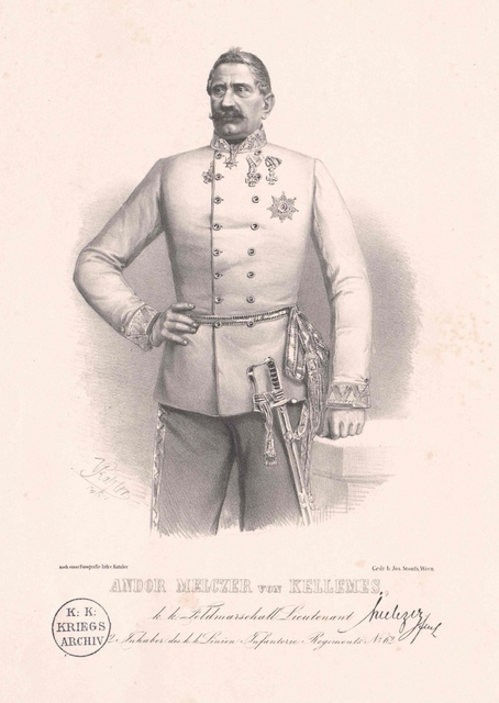 Melczer von Kellemes, Andor Freiherr von