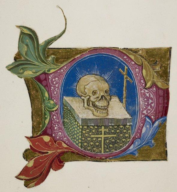 Memento Mori from BL Add 39636, ff. 5-8, 11-12, 30-32, f. 6