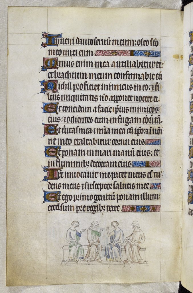 Men and women from BL Royal 2 B VII, f. 200v