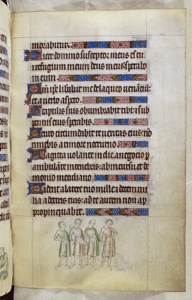 Men from BL Royal 2 B VII, f. 204