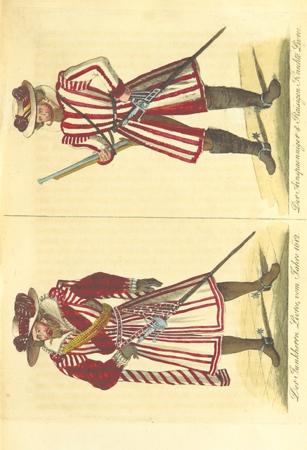 """menswear from """"Kriegs-und Sittengeschichte der Reichsstadt Nürnberg vom Ende des sechzehnten Jahrhunderts bis zur Schlacht bei Breitenfeld 7 (17) September 1631"""""""