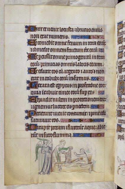 Mercurius from BL Royal 2 B VII, f. 222v
