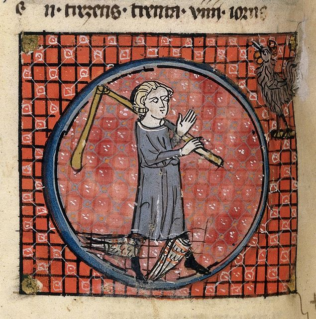 Mercury from BL Royal 19 C I, f. 41v