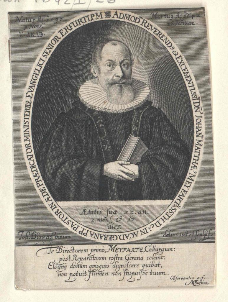 Meyfart, Johann Matthäus