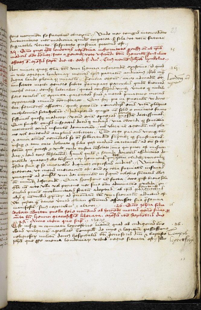 Miracles of Henry VI from BL Royal 13 C VIII, f. 23