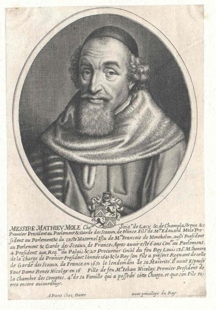 Molé, seigneur de Champlâtreux, Mathieu