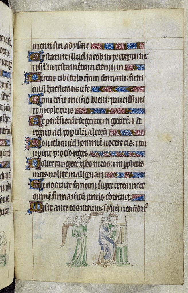 Monk from BL Royal 2 B VII, f. 221