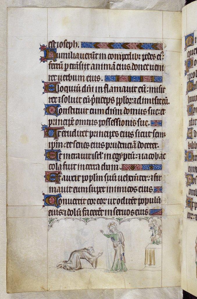 Monk from BL Royal 2 B VII, f. 221v