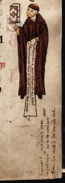 Monk from BL YT 2, f. 103