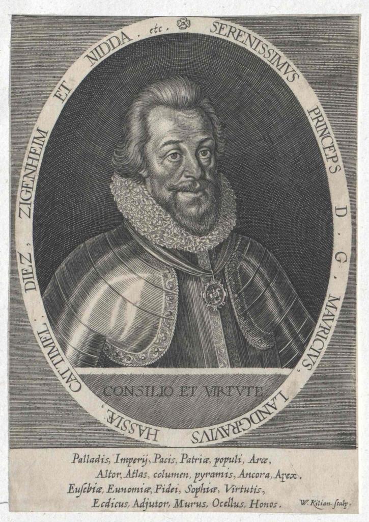 Moritz der Gelehrte, Landgraf von Hessen-Kassel
