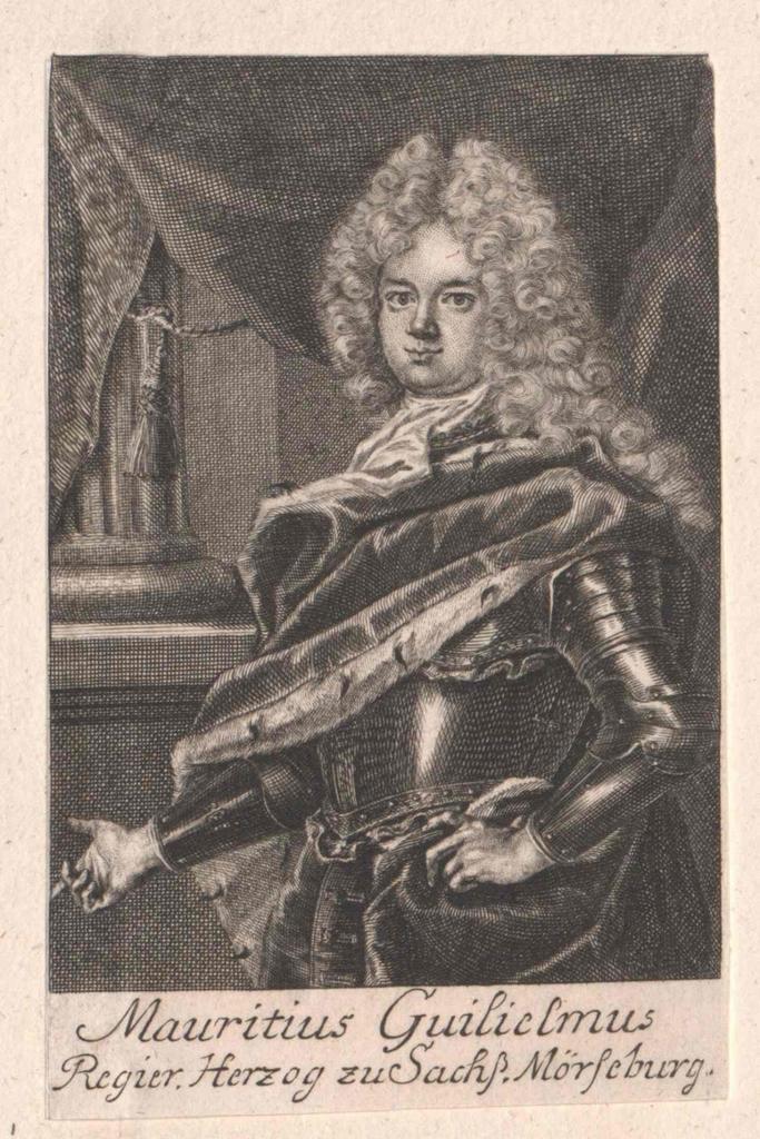 Moritz Wilhelm, Herzog von Sachsen-Merseburg