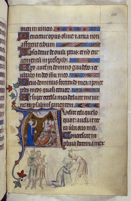 Moses and Thomas from BL Royal 2 B VII, f. 288
