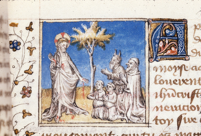 Moses from BL Royal 20 B IV, f. 152