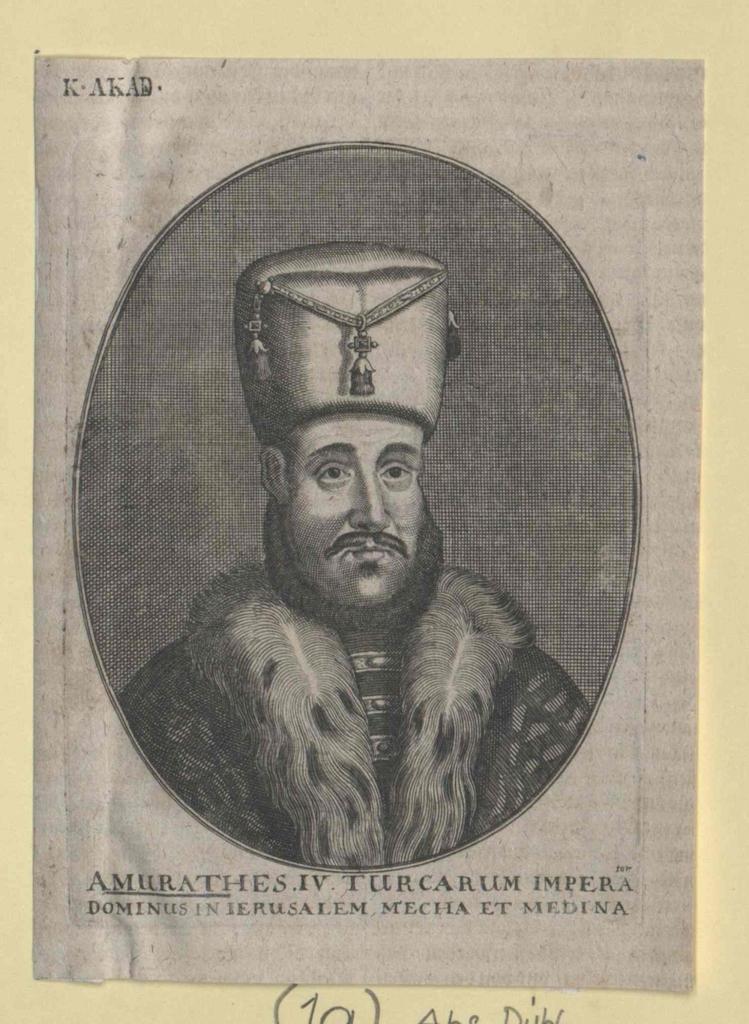 Murad IV., Sultan der Türkei