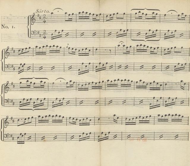 """music from """"Bruchstücke zur nähern Kenntniss des heutigen Griechenlands, gesammelt auf einer Reise ... im Jahre 1803-1804. Erster Theil. Mit neun illum. Kupfern mit Vignetten und Musikbeilagen"""""""