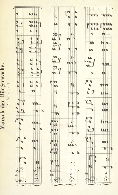 """music from """"Hamburgische Alterthümer. Beitrag zur Geschichte der Stadt und ihrer Sitten. [With musical notes.]"""""""