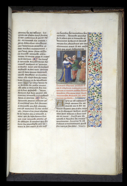 Mutilation of Justinian II from BL Royal 14 E V, f. 464