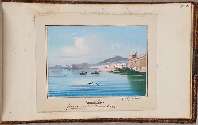 """""""Napoli, preso dal Carmine"""" / door C. Giusti"""