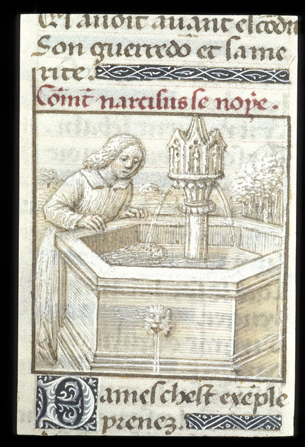 Narcissus from BL Eg 2022, f. 22v