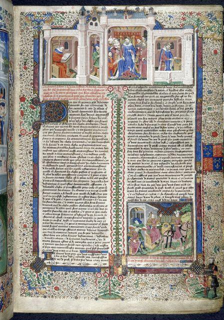 Nectanebus from BL Royal 15 E VI, f. 5