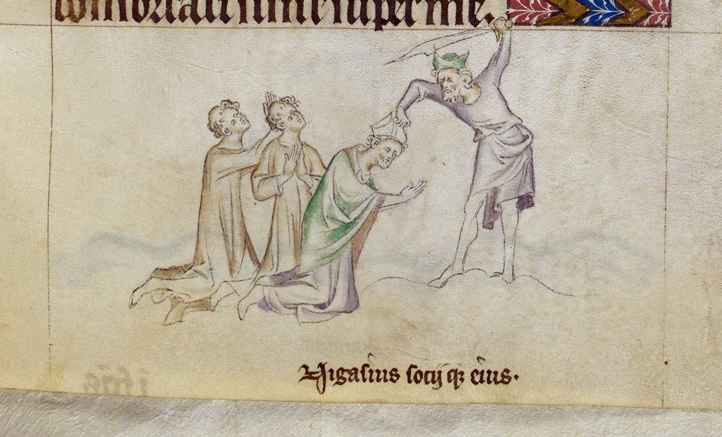 Nicasius from BL Royal 2 B VII, f. 272