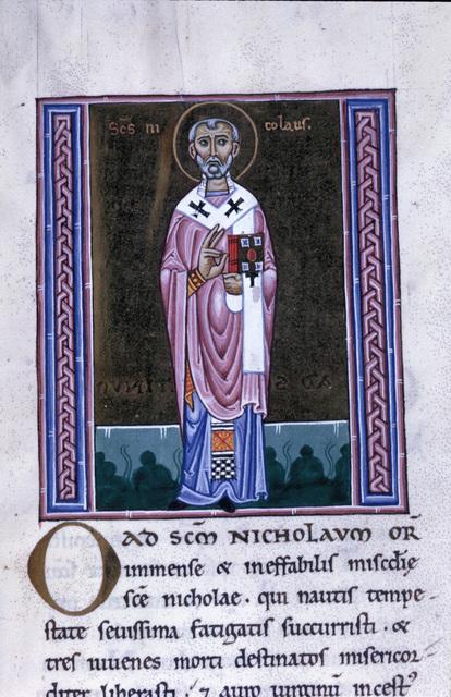Nicholas from BL Eg 1139, f. 209