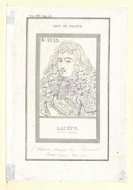 Nompar de Caumont, Duc de Lauzun, Antonin