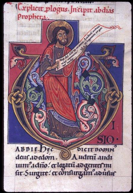 Obadiah from BL Harley 2803, f. 272
