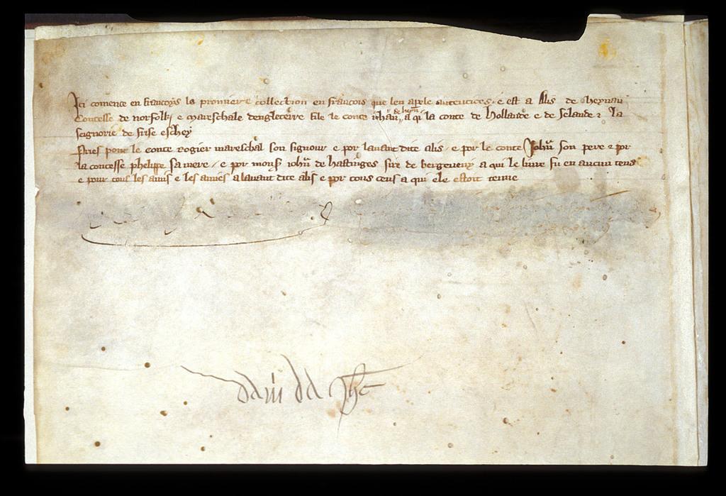 Ownership inscription from BL Royal 20 D IX, f. 5v