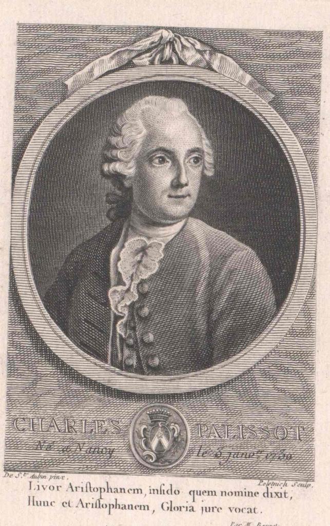 Palissot de Montenoy, Charles