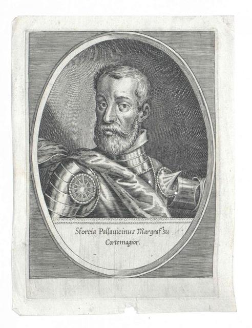 Pallavicini, Marchese di Cortemaggiore, Sforza