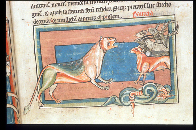 Panther from BL Harley 4751, f. 4