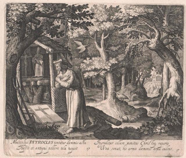 Patroclus von Colombier, Heiliger