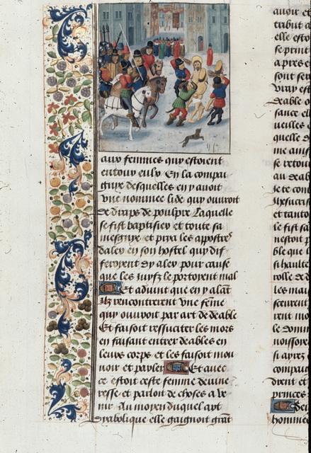 Paul at Philippi from BL Royal 15 D I, f. 425v