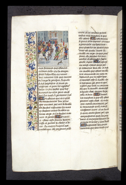Paul at Philippi from BL Royal 15 D I, f. 425v
