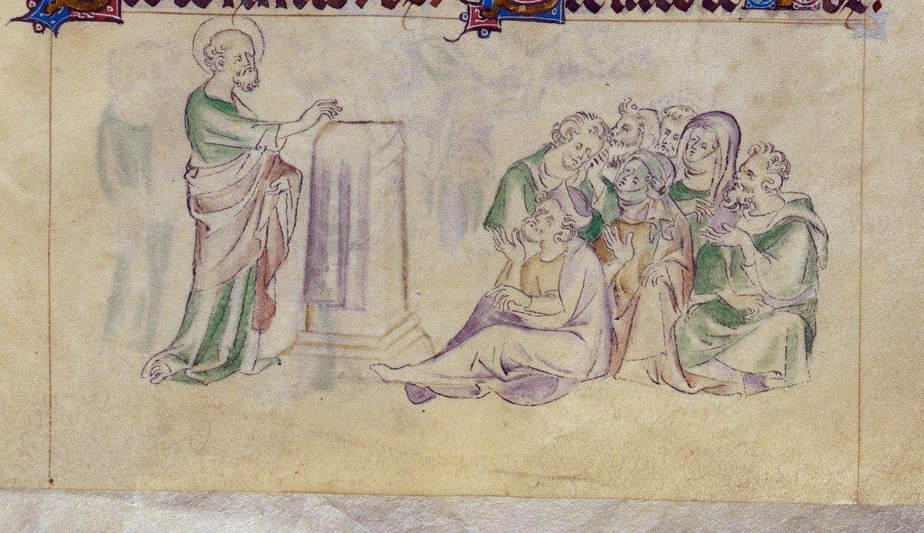 Paul from BL Royal 2 B VII, f. 305