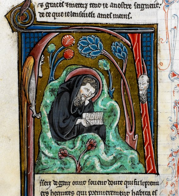 Paul from BL Royal 20 D VI, f. 195v