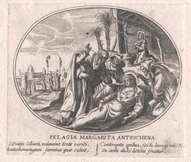 Pelagia von Jerusalem, Heilige