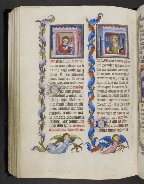 Peter and Stephen from BL Eg 1070, f. 97v
