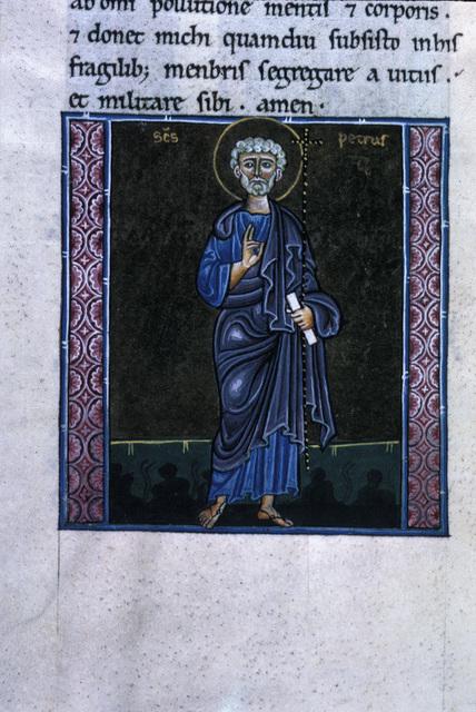 Peter from BL Eg 1139, f. 206v