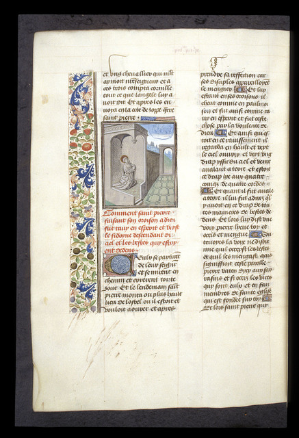 Peter's vision from BL Royal 15 D I, f. 405v