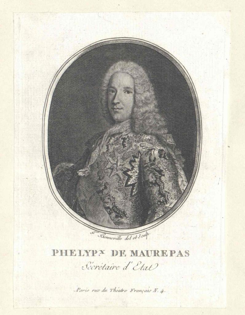 Phelypeaux, Comte de Maurepas, Jean Fréderic