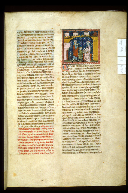 Philip and Alexander from BL Royal 19 D I, f. 5