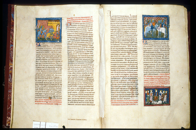 Philip and Alexander from BL Royal 19 D I, ff. 8v-9