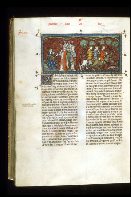 Philip Augustus from BL Royal 16 G VI, f. 330v
