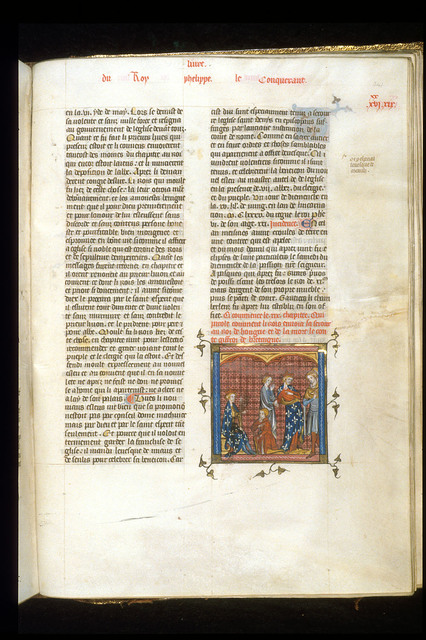 Philip Augustus from BL Royal 16 G VI, f. 341